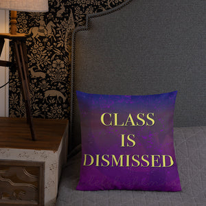 Homeschool Class is In Session Premium Pillow-Pillow-PureDesignTees