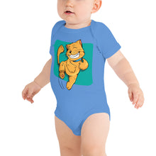 Load image into Gallery viewer, Happy Cat Baby Bodysuit-Baby Bodysuit-PureDesignTees