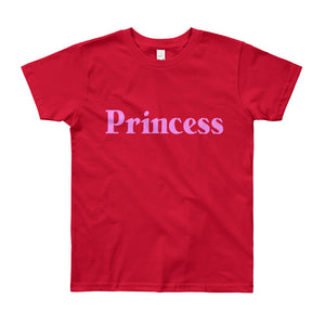 Princess Youth Short Sleeve T-Shirt-T-shirt-PureDesignTees