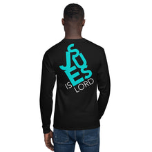 Load image into Gallery viewer, One Lord Jesus is Lord Men's Champion Long Sleeve Shirt-PureDesignTees