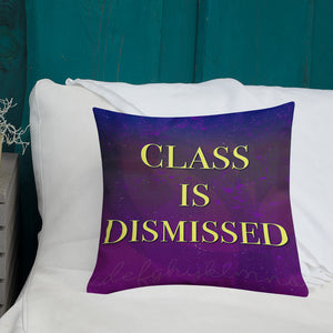 Homeschool Class is In Session Premium Pillow, Pillow - PureDesignTees