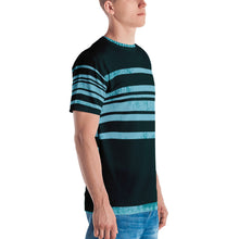 Load image into Gallery viewer, Striped Men's T-shirt-T-Shirt-PureDesignTees