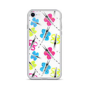 Fun Butterfly iPhone Case-phone case-PureDesignTees