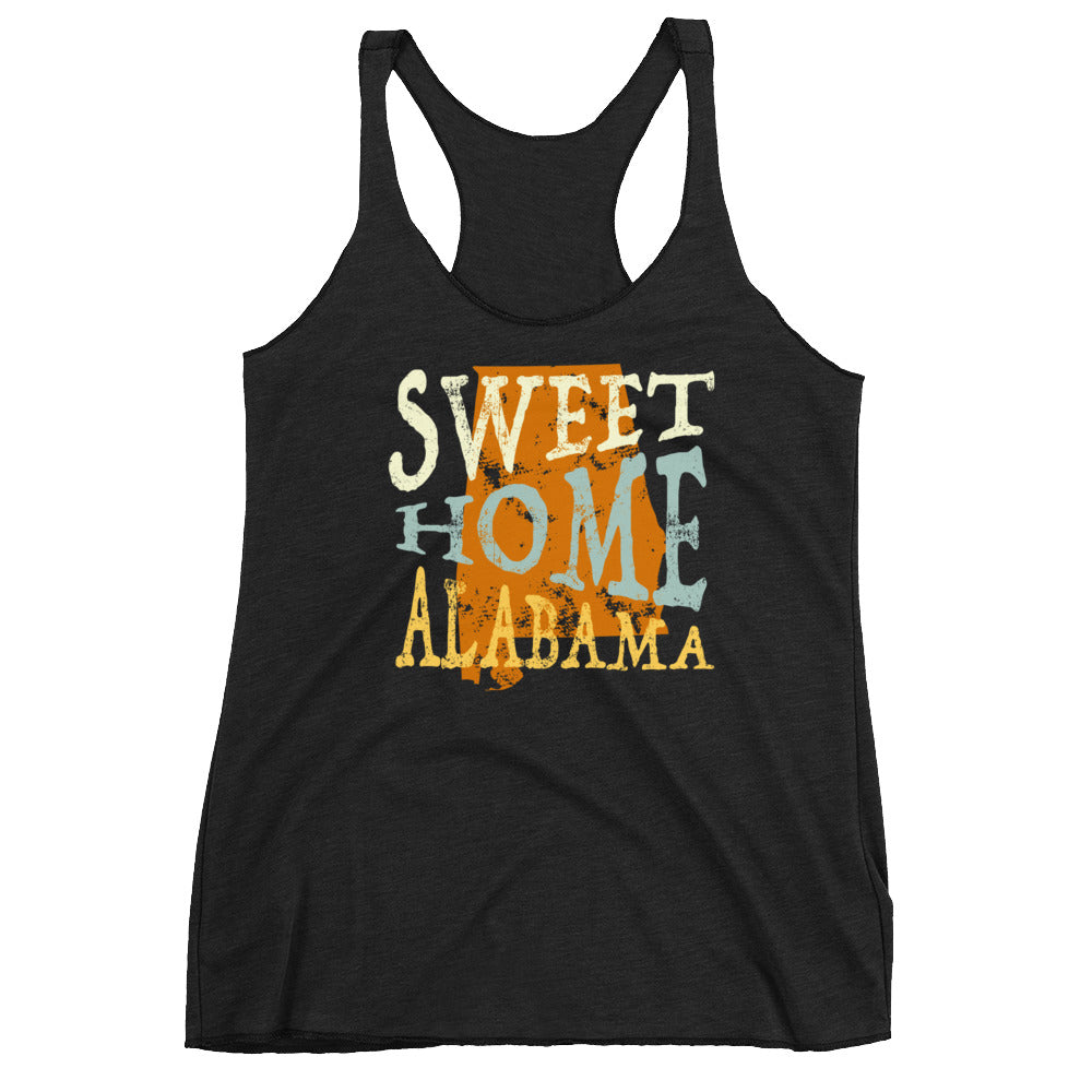 Sweet Home Alabama Women's Racerback Tank-T-Shirt-PureDesignTees
