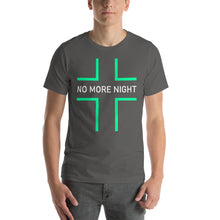 Load image into Gallery viewer, No More Night Short-Sleeve Unisex T-Shirt-t-shirt-PureDesignTees