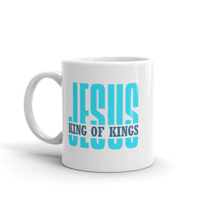Jesus King of Kings Mug-Mug-PureDesignTees