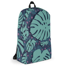 Load image into Gallery viewer, Lovely Floral Backpack-backpack-PureDesignTees