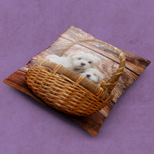 Load image into Gallery viewer, Personalized Throw Pillow - Add Your Own Photo!-Pillows Multi Template-PureDesignTees