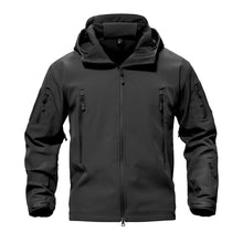 Load image into Gallery viewer, Shark Skin Military Tactical Softshell Waterproof Hoody-Jacket-PureDesignTees