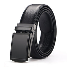 Load image into Gallery viewer, CETIRI Men's Genuine Leather Ratchet Click Belt-belt-PureDesignTees