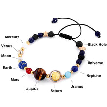 Load image into Gallery viewer, Solar System Beads Bangles & Bracelets Fashion Jewelry-Bracelet-PureDesignTees