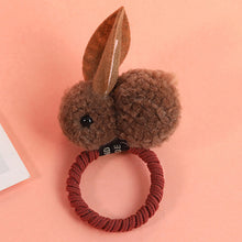 Load image into Gallery viewer, Cute Fuzzy Bunny Hair Bands For Girls-hair accessories-PureDesignTees