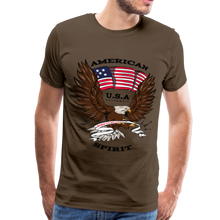 Load image into Gallery viewer, American Spirit Men's Premium T-Shirt-Men's Premium T-Shirt-PureDesignTees