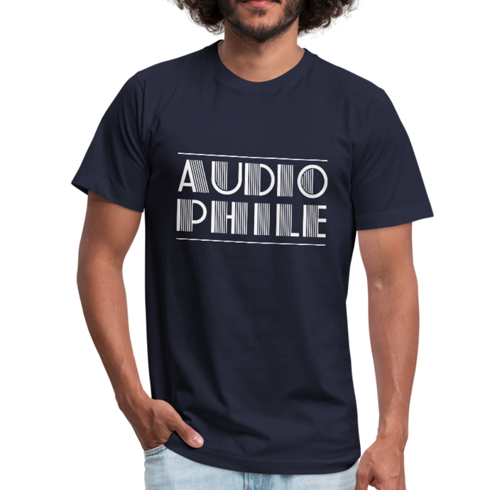 Audiophile Unisex Jersey T-Shirt by Bella + Canvas-Unisex Jersey T-Shirt by Bella + Canvas-PureDesignTees