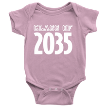 Load image into Gallery viewer, Class of 2035 Baby Onesie - PureDesignTees
