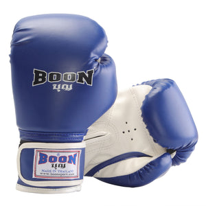 BGVCBL Children's Gloves, Blue & White