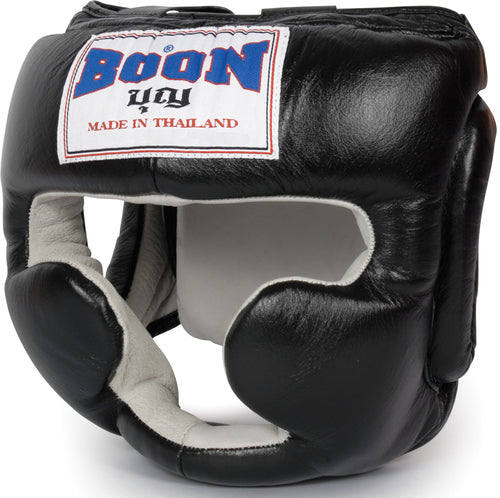 HGSBK Sparring Headgear Black
