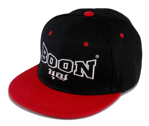 BCBR BOON Snapback Cap BLACK & RED