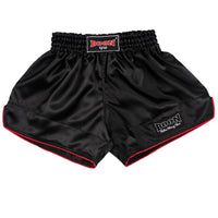RSBK Retro Muay Thai Shorts BLACK