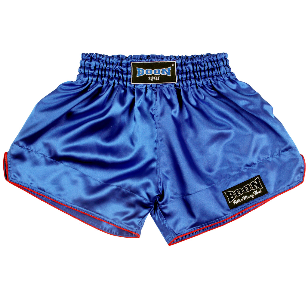 RSBL Retro Muay Thai Shorts BLUE