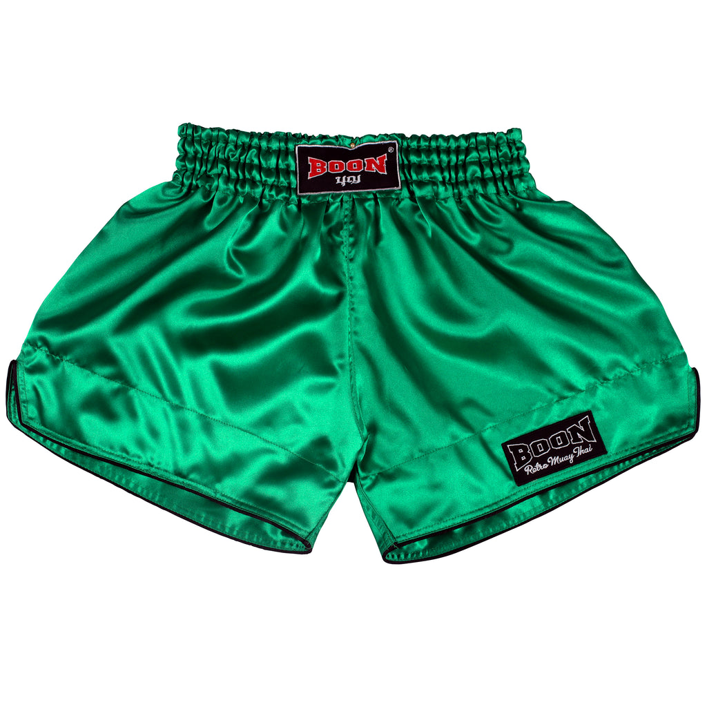 RSG Retro Muay Thai Shorts GREEN