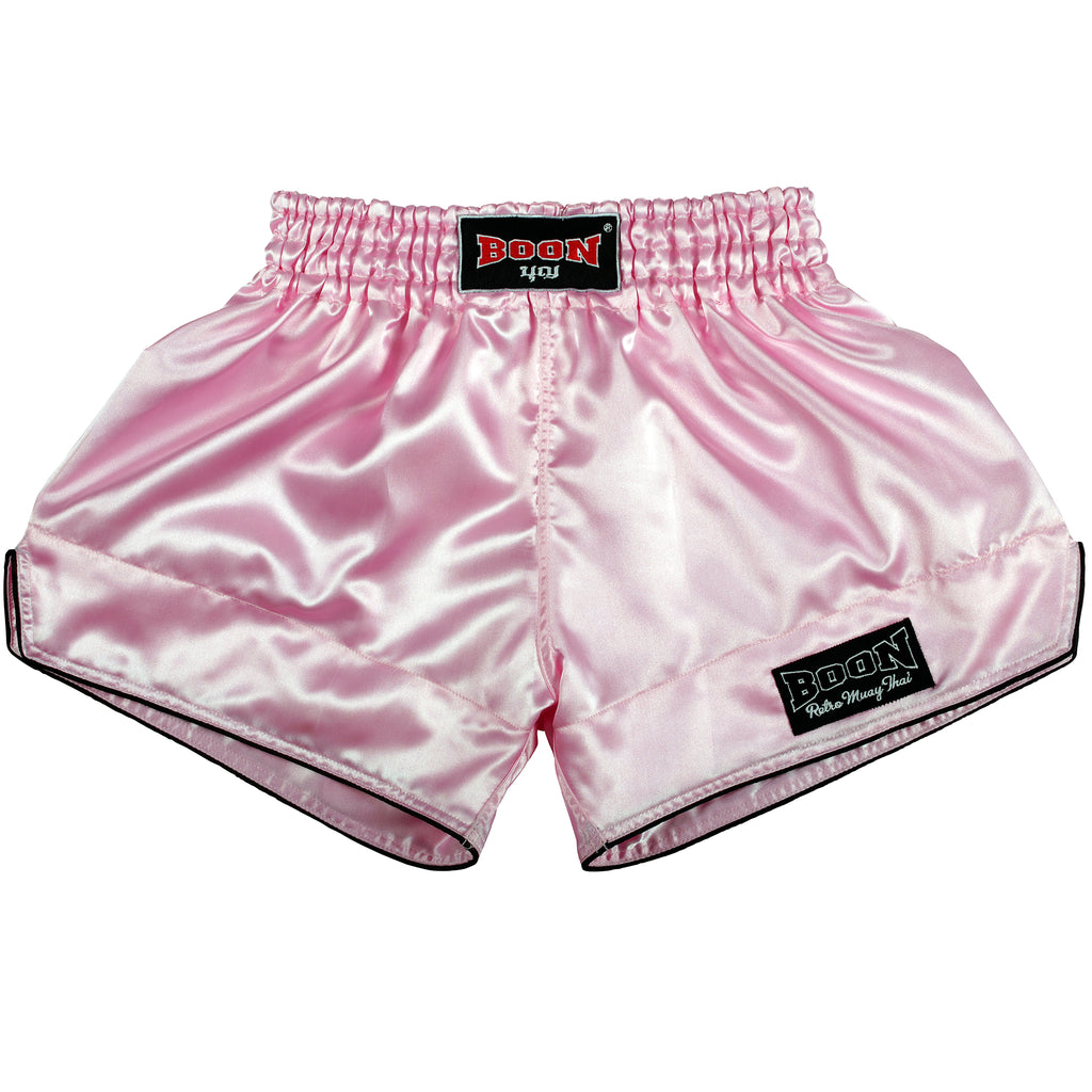 RSLP Retro Muay Thai Shorts LIGHT PINK