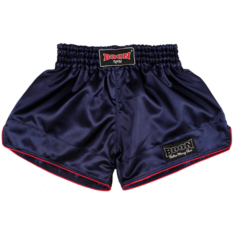RSN Retro Muay Thai Shorts NAVY
