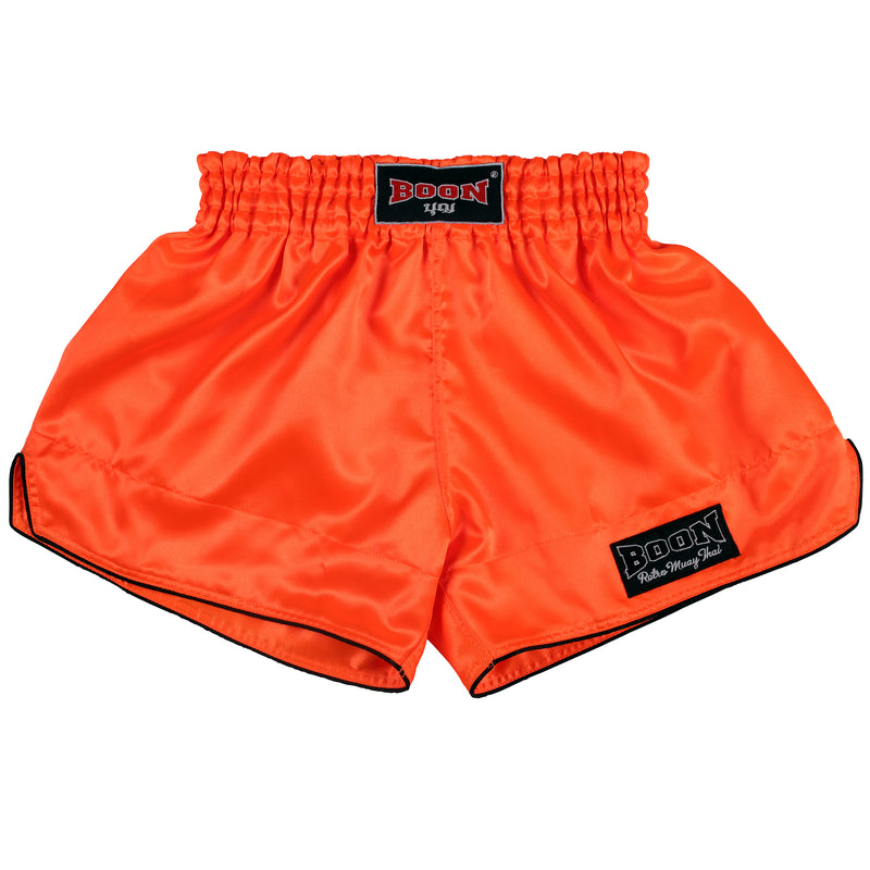 RSO Retro Muay Thai Shorts ORANGE