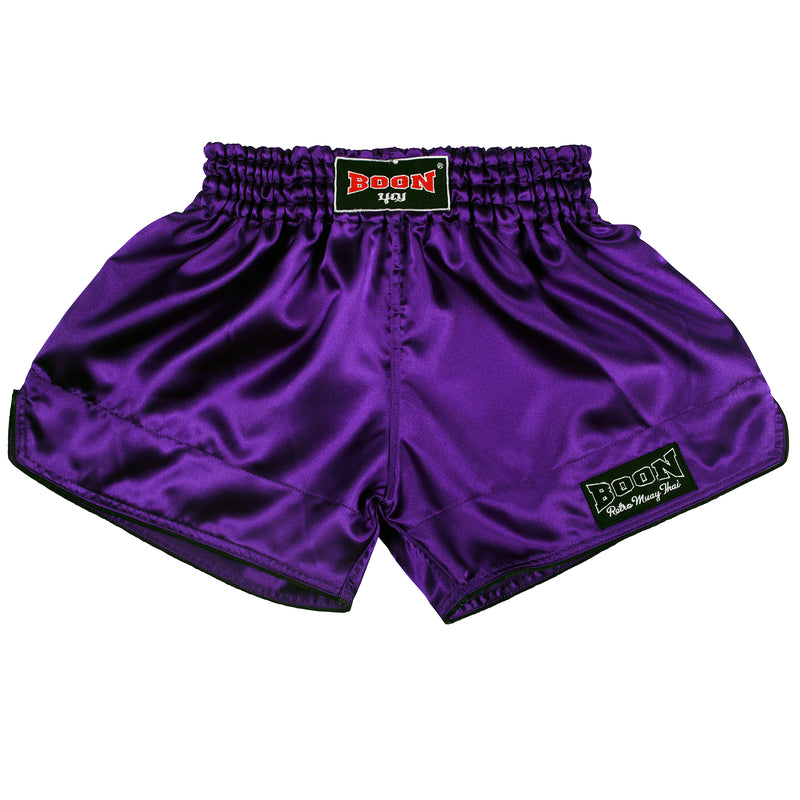 RSPL Retro Muay Thai Shorts PURPLE