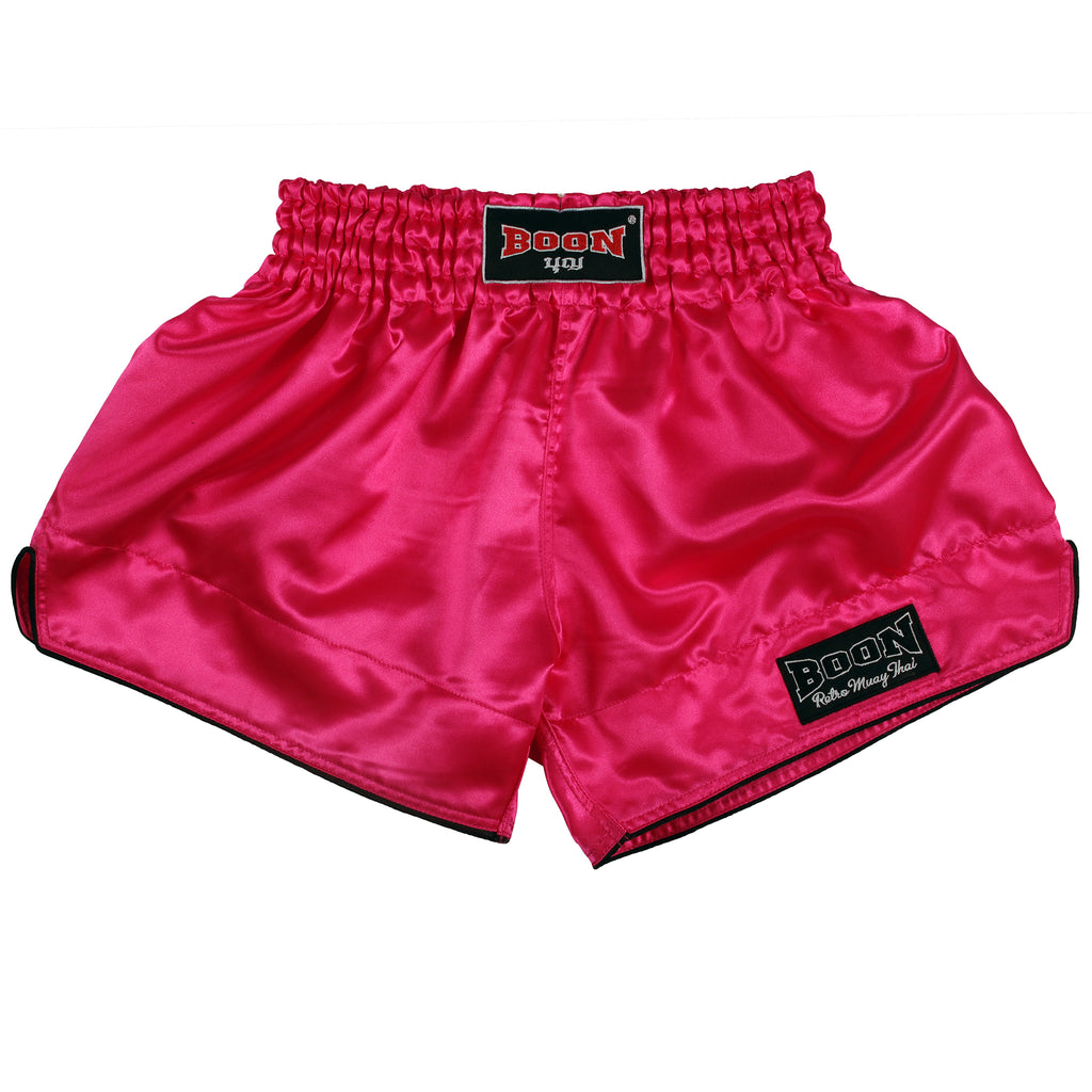 RSP Retro Muay Thai Shorts PINK