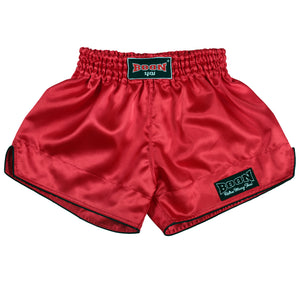RSR Retro Muay Thai Shorts RED
