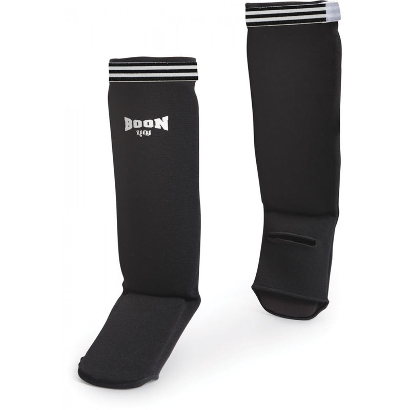 SCBK Competition Shin Guards Black