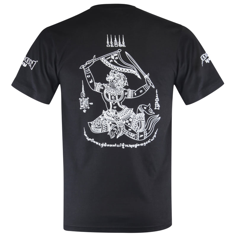 TSH T-Shirt Hanuman Black
