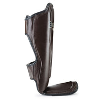 SPBR Shin Guards Brown
