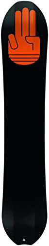 Bataleon The One Freeride Snowboards, Black, 162 cm