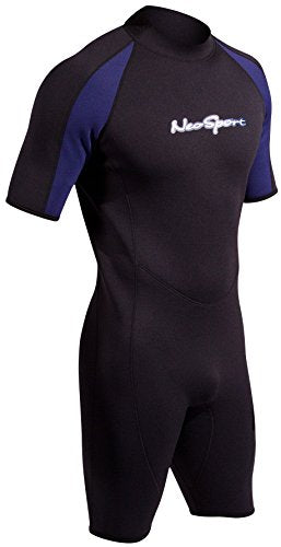 NeoSport Wetsuits Men's Premium Neoprene 3mm Shorty
