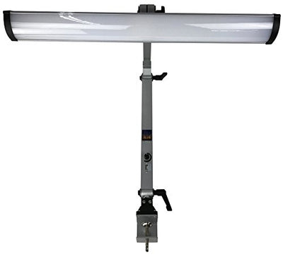 Industrial LED Task Lamp 80 Watt Dimmable 3200 Lumen Output With USB Phone Charging Port