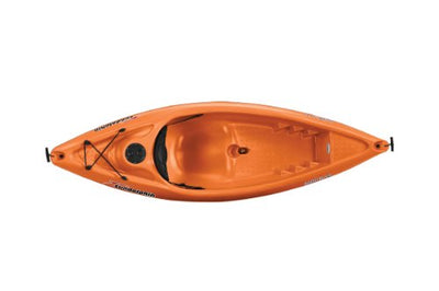 Sun Dolphin Bali SS Sit-on top Kayak (Tangerine, 8-Feet)