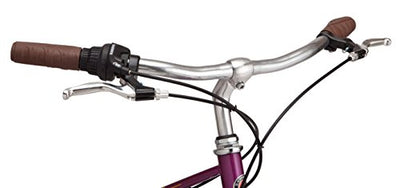 "Schwinn Mifflin 24"" Wheel Hybrid Bicycle, Magenta, One Size"