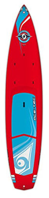 BIC Sport ACE-TEC Wing Stand Up Paddleboard, Gloss Red/White, 12'6