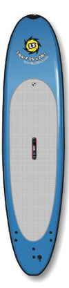 Liquid Shredder Paddleboard Softboard, Blue, 11-Feet