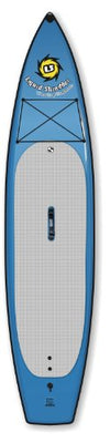 Liquid Shredder Paddleboard Soft Flatwater, Blue, 12-Feet