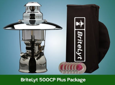 BriteLyt/Petromax USA 500CP/XL Pressure Lantern Plus Package