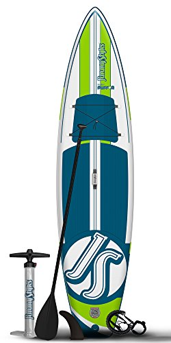 JimmyStyks Puffer Paddleboard, Blue/Green, 11'4""