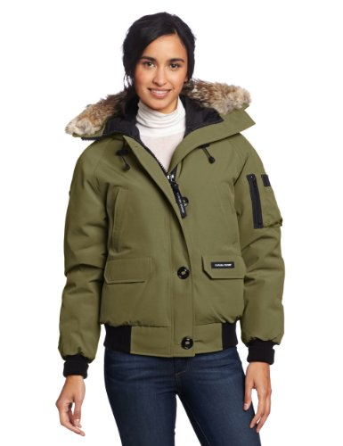 Canada Goose Women's Chilliwack Bomber,  Military Green,  Medium