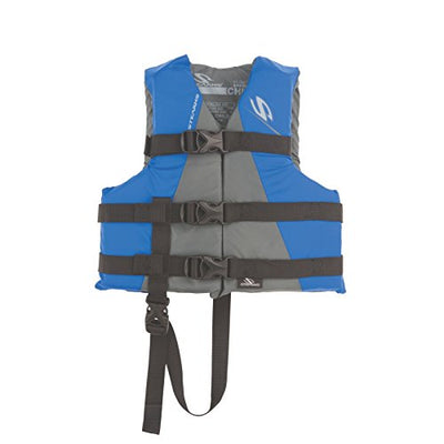 Stearns Watersport Classic Child's Life Jacket, Blue (Fits 30-50LBS)