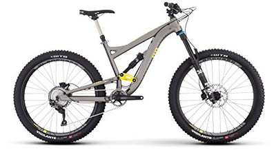 e58ba498545 Diamondback Bicycles Mission 2 Complete All Mountain Full Suspension  Bicycle, Grey, 19
