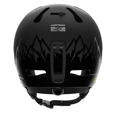 POC Helmets and Armor Fornix Jeremy Jones Ed. Ski Helmet, Uranium Black, Medium-Large/55-58 cm