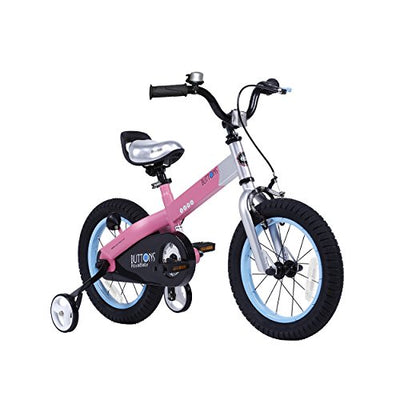 RoyalBaby CubeTube Kid's bikes, unisex children's bikes with training wheels, various trendy features, 12, 14, 16 and 18 inch, gifts for fashionable boys & girls