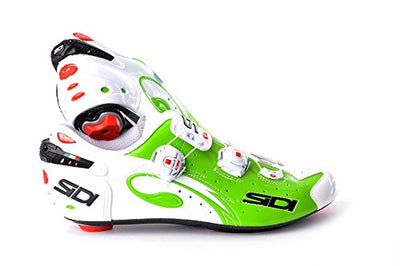 Sidi Wire Carbon Vernice Road Shoes 2015 Green/White 39